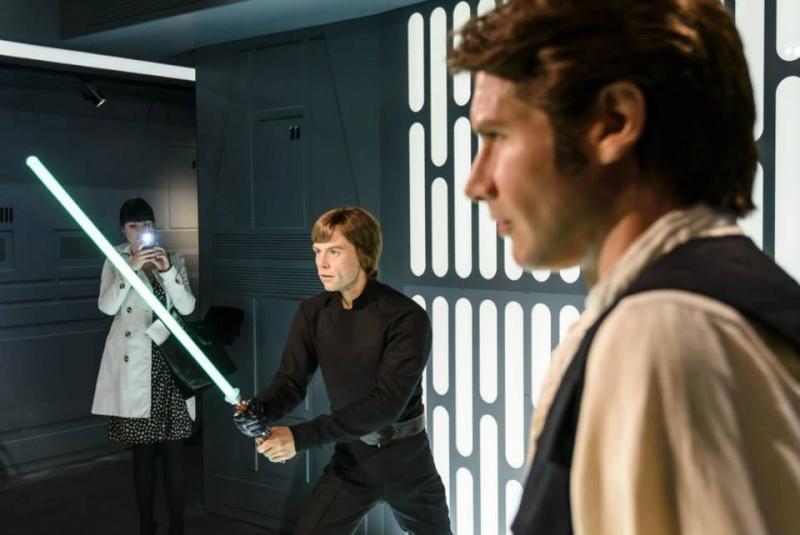 Star Wars au Musée de Madame Tussauds à Londres 11209410