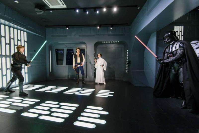 Star Wars au Musée de Madame Tussauds à Londres 11259510