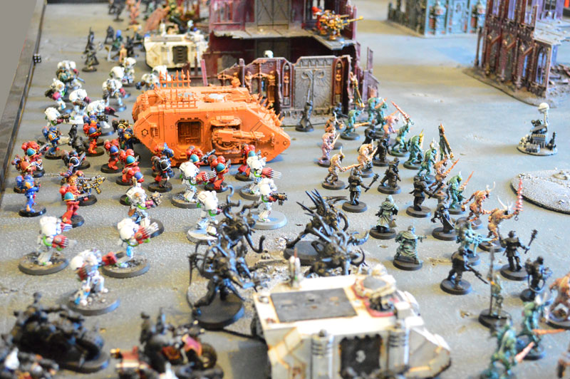 2015.03.27 - Tyranides contre Spaces Marines du Chaos - 4000 pts 0111