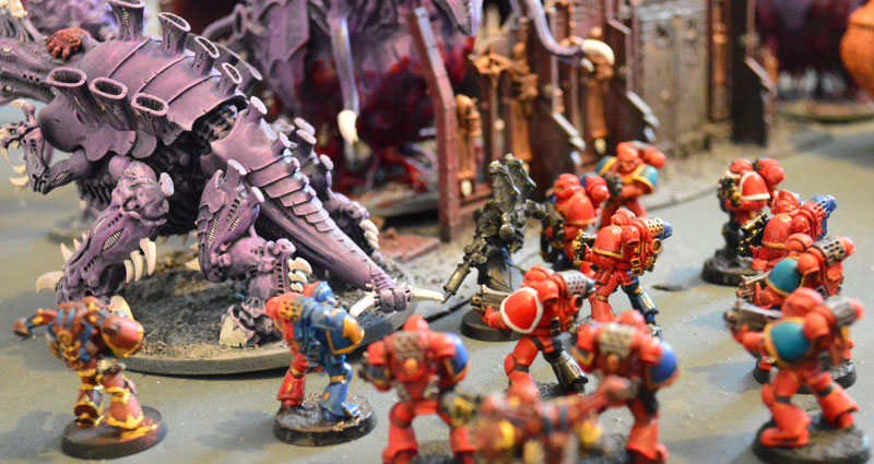 2015.03.27 - Tyranides contre Spaces Marines du Chaos - 4000 pts 1110