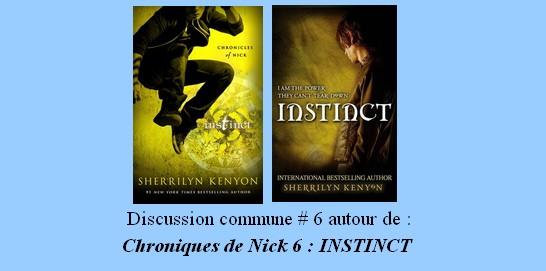 Discussion commune #6 : Chroniques de Nick 6 : Instinct Lectur11