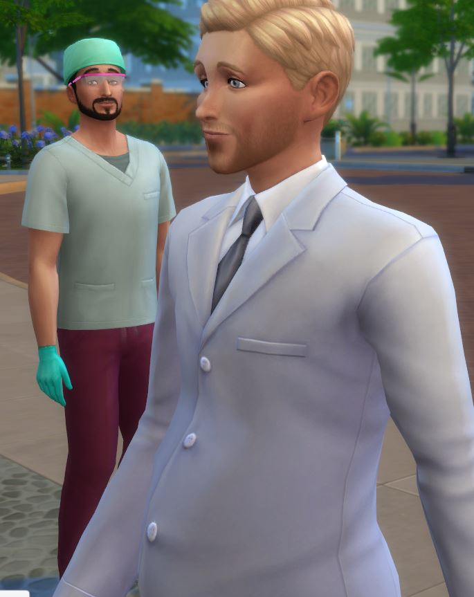 Jonathan at Work (lionpaws' experiences with GTW)[Scientist with Jupiter; part2] Belly10