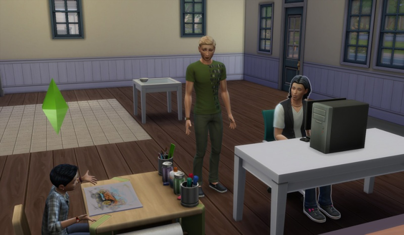 Jonathan at Work (lionpaws' experiences with GTW)[Scientist with Jupiter; part2] - Page 2 Jon10410