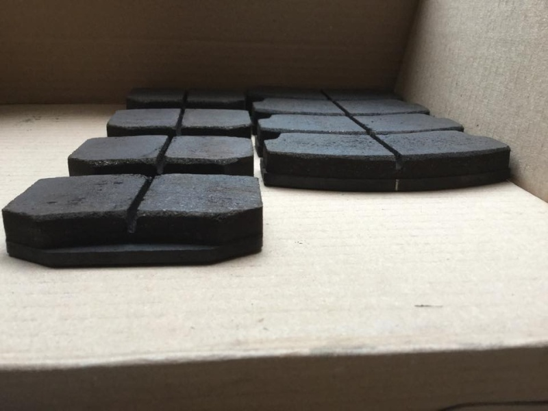 2 Set Pastiglie FERODO DS 2500 2 e 4 pot prò 5000 Past_f11