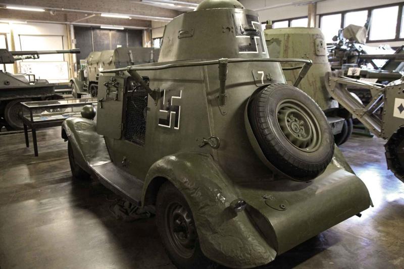 Musée des Blindés de Finlande et autres vestiges de guerre 1110
