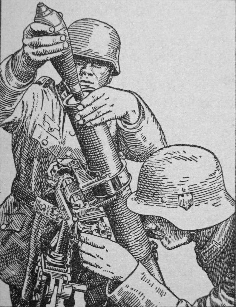 Granatwerfer, les mortiers de l'armée allemande. - Page 2 5410