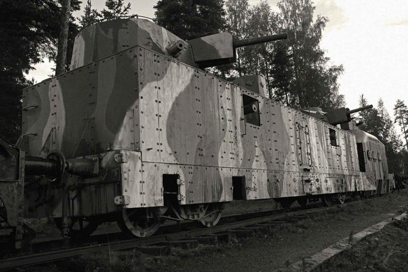 Musée des Blindés de Finlande et autres vestiges de guerre A110