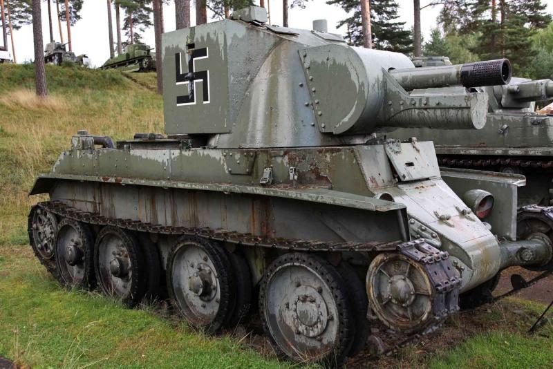 Musée des Blindés de Finlande et autres vestiges de guerre Bt_4210