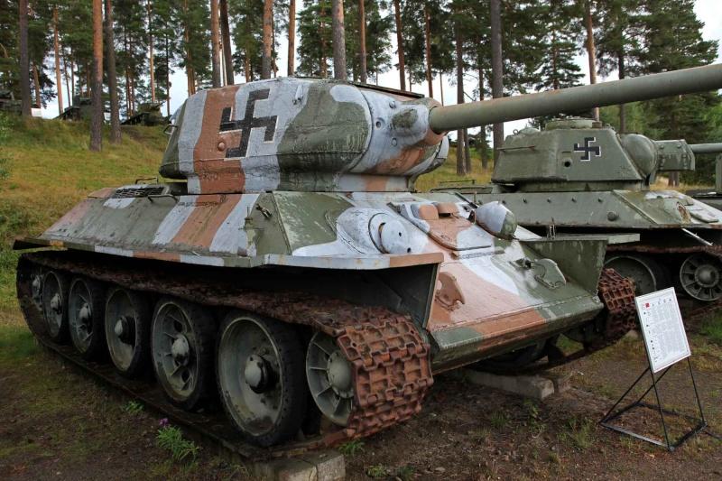 Musée des Blindés de Finlande et autres vestiges de guerre Jkk10