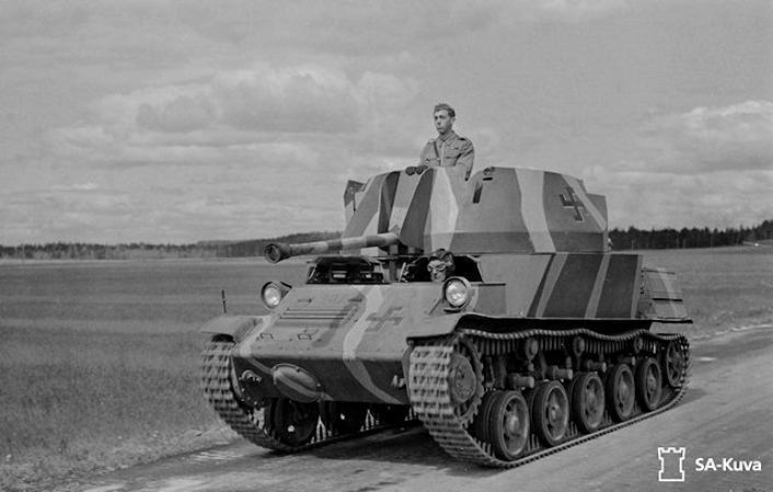 Musée des Blindés de Finlande et autres vestiges de guerre L60b10