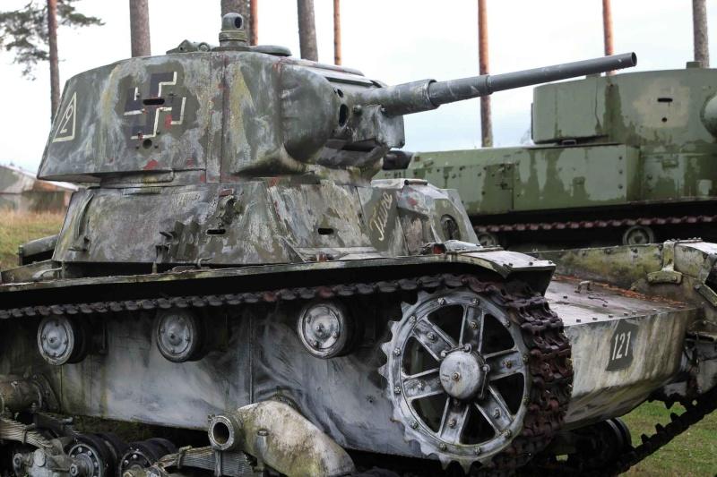 Musée des Blindés de Finlande et autres vestiges de guerre T2610