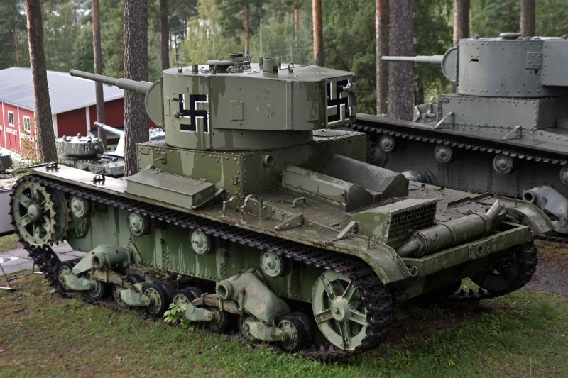 Musée des Blindés de Finlande et autres vestiges de guerre T26110