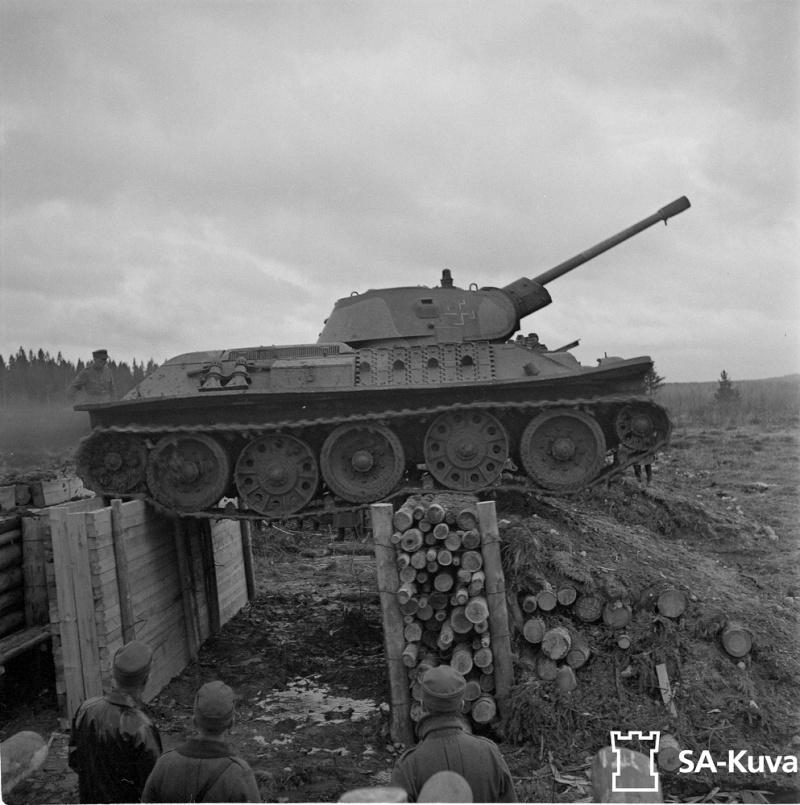 Musée des Blindés de Finlande et autres vestiges de guerre T341210