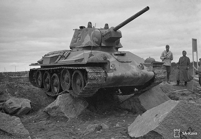 Musée des Blindés de Finlande et autres vestiges de guerre T342110
