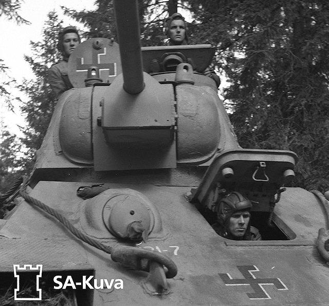 Musée des Blindés de Finlande et autres vestiges de guerre T34610