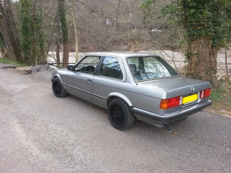 "BMW E30 325E 1986 COUPE BVM ""lachssilber-metallic"" 110"