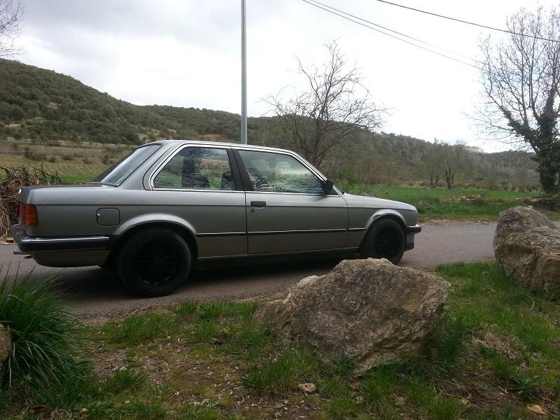 "BMW E30 325E 1986 COUPE BVM ""lachssilber-metallic"" 310"