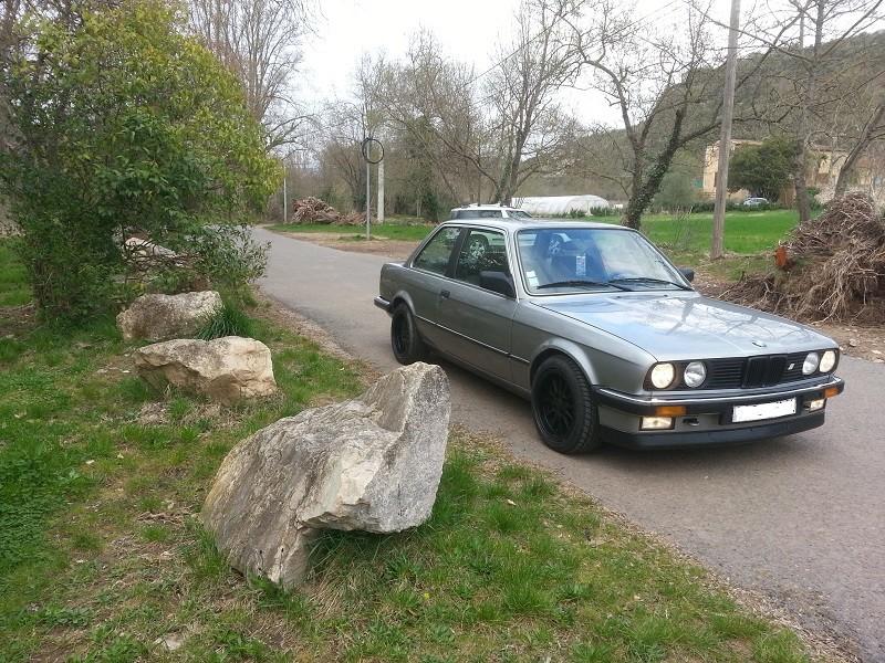 "BMW E30 325E 1986 COUPE BVM ""lachssilber-metallic"" 410"