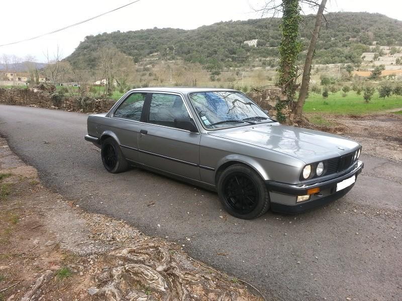 "BMW E30 325E 1986 COUPE BVM ""lachssilber-metallic"" 510"