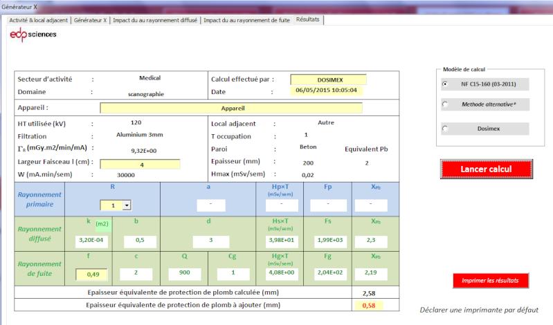 PCR Dentaire > aide pour le calcul analytique sous DICOMEX Exempl11