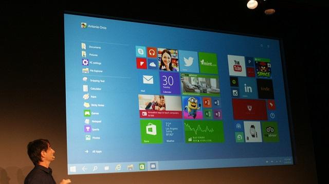 Microsoft publikon kerkesat harduerike te Windows 10 Micros10