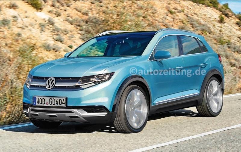 2018 - [Volkswagen] T-Cross Cc20