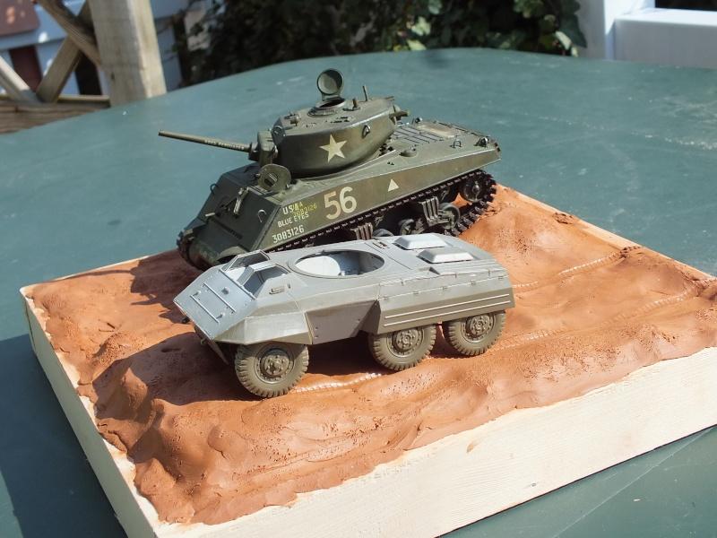 Sherman A3E2  Tamiya 1/35 et canon alu Rb models.  (Patine en cours) - Page 4 Dscf7720