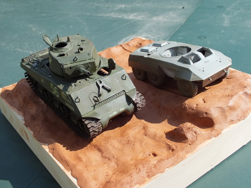Sherman A3E2  Tamiya 1/35 et canon alu Rb models.  (Patine en cours) - Page 4 Dscf7721