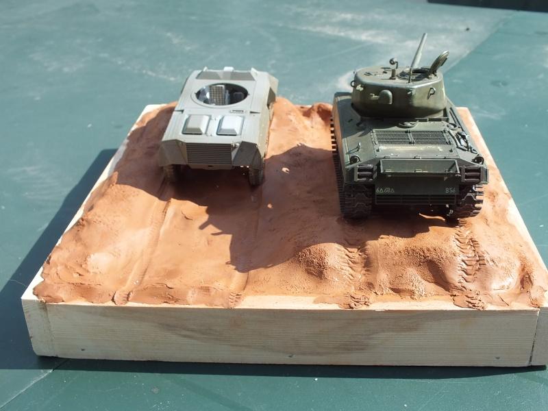 Sherman A3E2  Tamiya 1/35 et canon alu Rb models.  (Patine en cours) - Page 4 Dscf7722