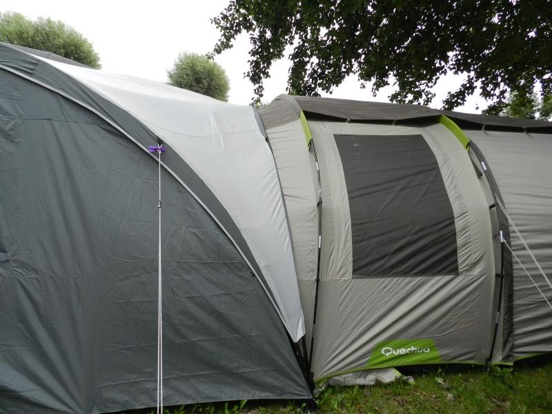 Quechua T6.2 XL & Coleman event shelter 4.5 x 4.5m Dscn0510