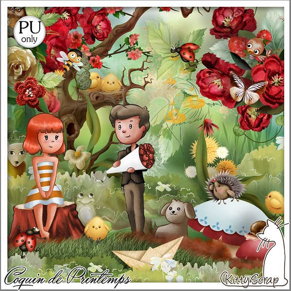 Couquin de printemps de Kittyscrap dans Mars folder20