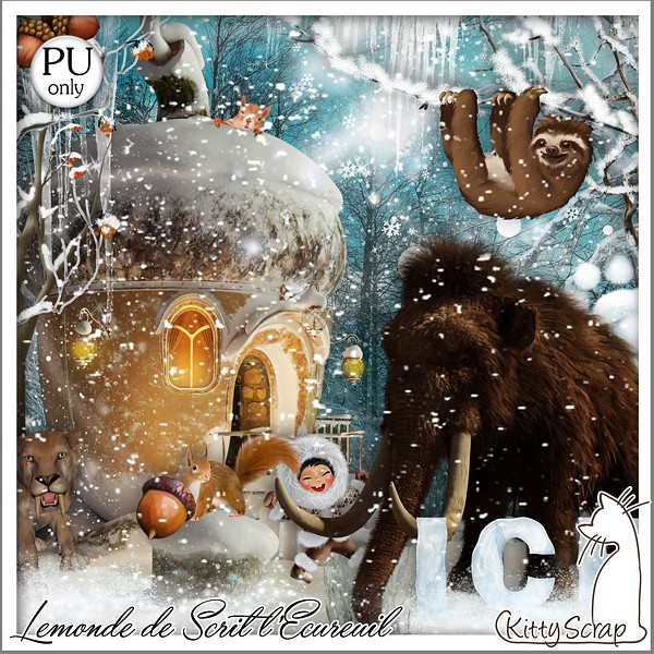 LE MONDE DE SCRIT L'ECUREUIL - lundi 2 décembre / monday december 2sd Folder42