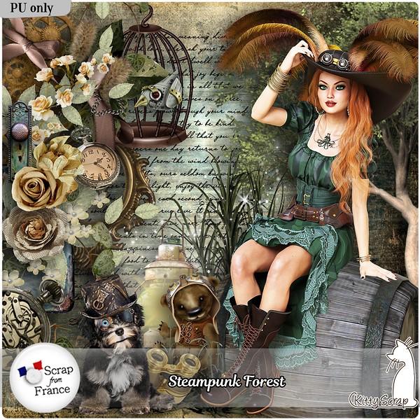 STEAMPUNK FOREST DE KITTYSCRAP kitty252