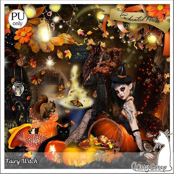 Fairy Witch de Kittyscrap dans Novembre kitty290