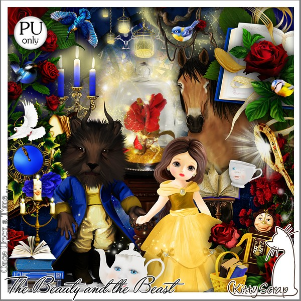 ONCE UPON A TIME THE BEAUTY AND THE BEAST - jeudi 9 mai / thursday may 9th Kitty431