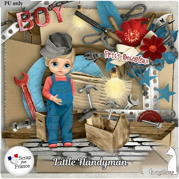 LITTLE HANDYMAN - mercredi 22 mai / wednesday may 22th Kitty437