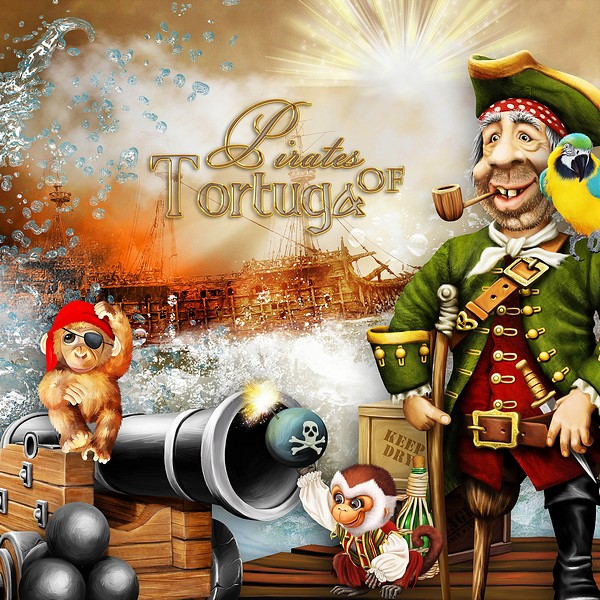 PIRATES OF TORTUGA - jeudi 8 aout / thursday august 8th Kitty450