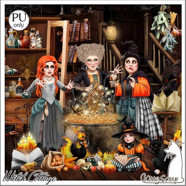 WITCH COTTAGE - jeudi 29 octobre / thursday october 29th Kitty581