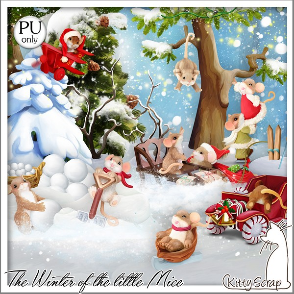 THE WINTER OF THE LITTLE MICE - lundi 23 novembre / monday november 23 th Kitty601