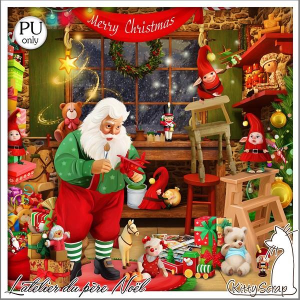 L'ATELIER DU PERE NOEL - jeudi 10 décembre / thursday december 10th Kitty611