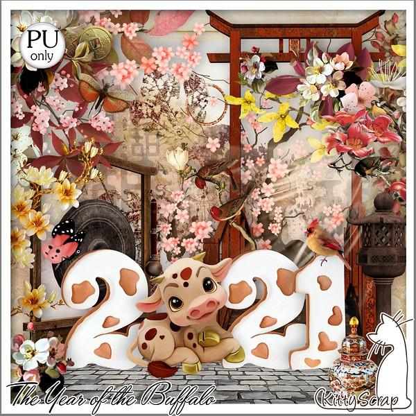 THE YEAR OF THE BUFFALO - jeudi 21 janvier / thursday january 21th Kitty627