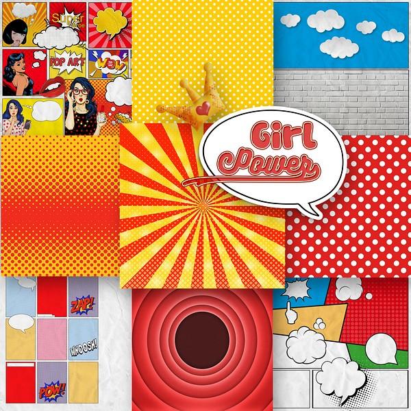GIRL POWER - lundi 8 mars / monday marsh 8th Kitty655