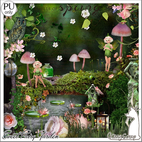 SWEET FAIRY GARDEN - lundi 19 avril / monday april 19th Kitty675