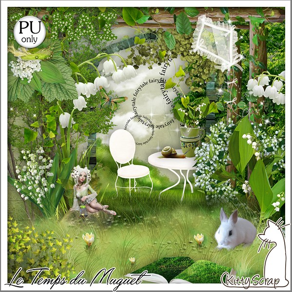 LE TEMPS DU MUGUET - Samedi 1 er mai / saturday may 1st Kitty682