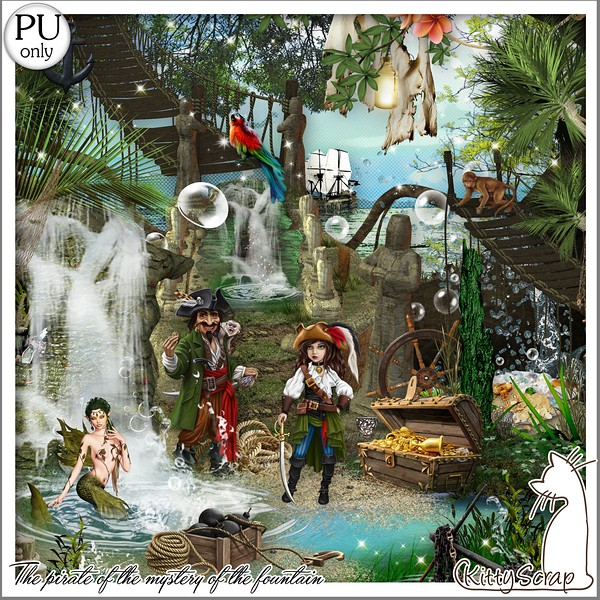 THE PIRATES AND THE MYSTERY OF THE FOUNTAIN - jeudi june 17th / jeudi 17 juin Kitty693