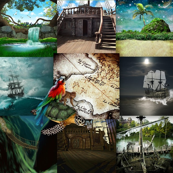 THE PIRATES AND THE MYSTERY OF THE FOUNTAIN - jeudi june 17th / jeudi 17 juin Kitty694