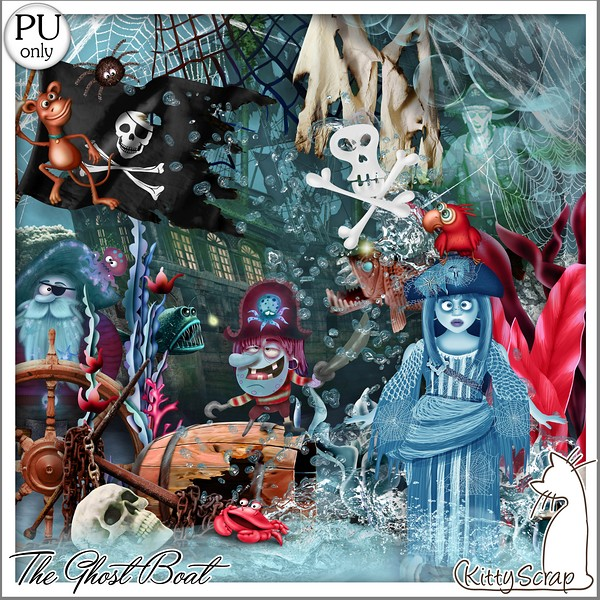 THE GHOST BOAT - lundi 11 octobre / monday october 11th Kitty754