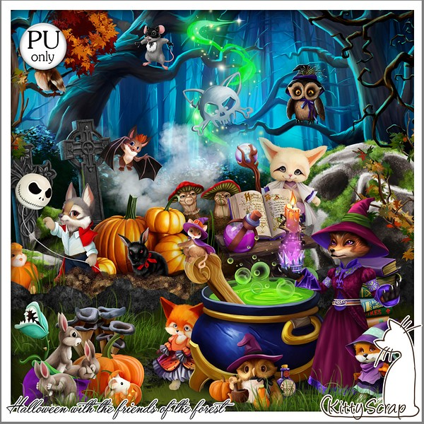 HALLOWEEN WITH THE FRIENDS OF THE FOREST - jeudi 14 octobre / thursday october 14th Kitty756