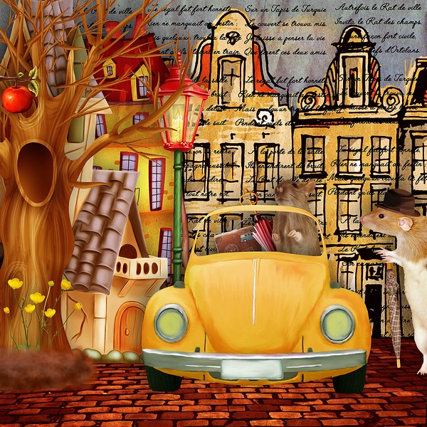 LE RAT DES VILLES ET LE RAT DES CHAMPS - vendredi 4 octobre / friday october  4th Leratd10