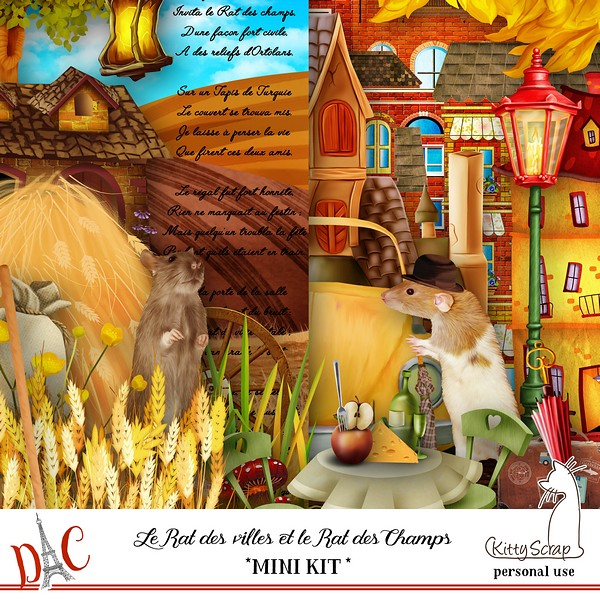 LE RAT DES VILLES ET LE RAT DES CHAMPS - vendredi 4 octobre / friday october  4th Previ271